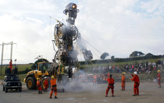 Man Engine comes to Wheal Jane