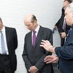 HRH visits the Wheal Jane Laboratory