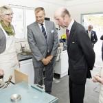 Wheal Jane Royal Visit