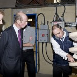 HRH visits the Wardell Armstrong pilot plant