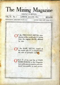 Mining Magazine August 1914