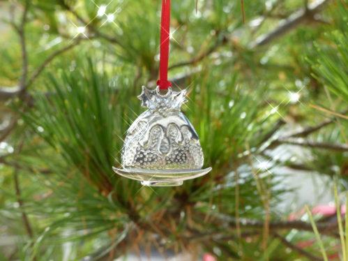 Christmas Pudding Tin Decoration