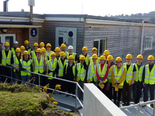 Leicester geologists at Wheal Jane