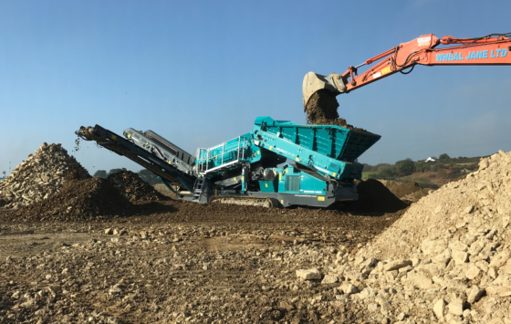 Wheal Jane Ltd - new equipment