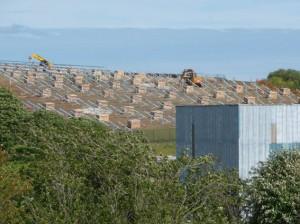 Work being undertaken on Cornwall's solar park